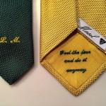 English gauze tie